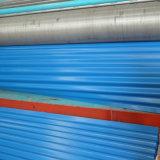 strato d'acciaio ondulato preverniciato blu del tetto del mare di 0.14*900/780*3000mm