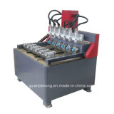 Yasakawa Servo, Nc studio, Rotary Gravure, 4 Axe Multi-Machine Head CNC routeur Gravure (DT2212S-8)