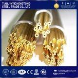 H62 tubo de cobre amarillo de cobre amarillo, tubos de Holow
