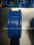 Tipo duplo válvula da borboleta da bolacha da placa de verificação