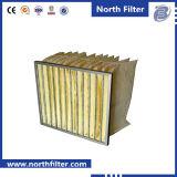 空気のための中型のガラス繊維のバッグフィルタ