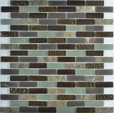 Spessore un mosaico di vetro da 8 millimetri/mattonelle di vetro