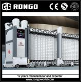 Aluminiumfernsteuerungsfalz-einziehbares Gatter