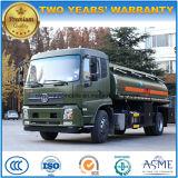 Dongfeng 15000 L reaprovisiona el carro del transporte de combustible del petróleo del carro del tanque 15kl