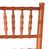 Silla de Chiavari de madera sólida de Brown para la boda y el acontecimiento