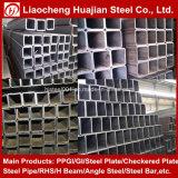 Tubo d'acciaio quadrato galvanizzato zinco per materiale da costruzione
