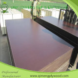 Glue impermeável 15mm Film Faced Construction Plywood com Black Film