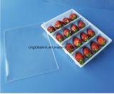Bandeja Paquete de alimentos PP PET transparente desechable Clamshell Blister fruta