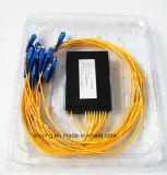 2X16 PC ABS Box Optical Fiber Splitter van Sc