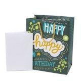 Sac de papier de cadeau de Brithday, sac de papier de cadeau, sac de papier enduit lustré, sac à provisions