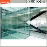 el ácido de 3-19m m grabó al agua fuerte el vidrio deslizante anti Tempered para la escalera