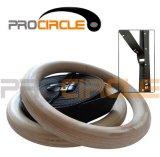 Anillos de madera, gimnasio nuevo Crossfit Gimnasio Ringssuper calidad (PC-GR1007)