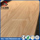 cinza natural de 18mm/madeira compensada comercial laminada folheado da noz/carvalho vermelho