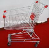 Het Boodschappenwagentje van het Handvat van de Opslag van het Gemak van de supermarkt