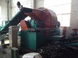 Überschüssiger Gummireifen-Ausschnitt-Reifen, der Produktionszweig Maschine aufbereitet