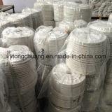 Guarnizione Braided della corda del silicato dell'isolante del quadrato di alluminio della fibra di ceramica