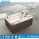 8-9 tina al aire libre de acrílico de lujo del BALNEARIO del masaje del torbellino de las personas (M-3303)