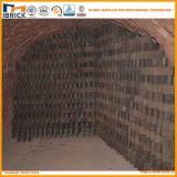 Four à Hoffman de brique réfractaire de charbon de modèle de four à briques d'argile
