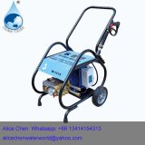 高圧ポンプおよび100bar電気圧力洗濯機が付いているカーウォッシュ