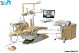 Cadeira dental do sistema Multifunctional luxuoso do implante do projeto do ouro (Gold-8)