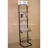Standing livre Wire e Metal Display Stand (PHY375)