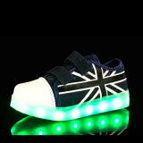 СИД 2016 новых детей типа обувает ботинки СИД светлые при Unisex USB поручая для малышей