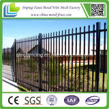 Security를 위한 분말 Coated Tubular Spear Top Steel Fence