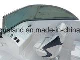 Barco de motor do esporte de Aqualand 20.5feet 6.25m/Bowrider/barco da fibra de vidro (205br)