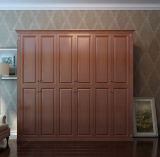 Moderner PVC+MDF Tür-Bücherschrank Bk-04 der Form-