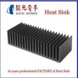 Dissipador de calor de alumínio do perfil com a potência revestida