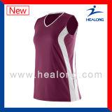 Волейбол Джерси сублимации Healong самый лучший продавая безрукавный