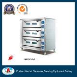 3 Tellersegment-elektrische Bäckerei-Brot-Backen-Ofen-Maschine der Plattform-9 (HEO-30-3)