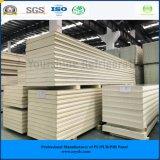 ISO, SGS는 서늘한 방 찬 룸 냉장고를 위한 100mm 직류 전기를 통한 강철 유형을 폐쇄하는 Pur 샌드위치 (훅 없음) 위원회를 승인했다