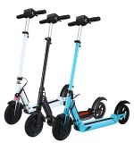 8inch 2車輪のLEDが付いている電気蹴りの永続的なスクーターのFoldableスマートな小型スクーター