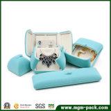 Коробка Jewellery творческого бархата конструкции пластичная