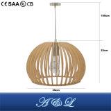 Atacado lâmpada pingente de madeira com preço de fábrica