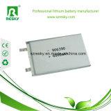 batteria 805085 del polimero del litio di 3.7V 4000mAh con il PCM ed il collegare