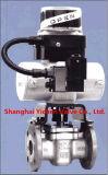 Válvula de plugue afilada luva de Dbb com o PTFE alinhado