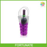 De vouwbare Plastic Koelere Boodschappentas van de Totalisator van de Zak van de Wijn