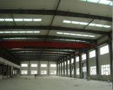 Здание стальной структуры панели сандвича строения поставкы фабрики быстрое