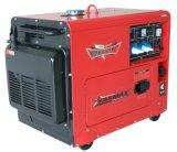 Diesel van het Type van huishouden Economische Stille Generator 6kVA 230V 192