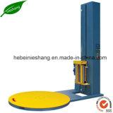 Máquina semiautomática de empilhamento de plataforma giratória