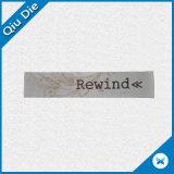 Escritura de la etiqueta impresa paño modificada para requisitos particulares del algodón de la marca de fábrica para la ropa/el colchón