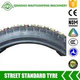 2.75-17 weg vom Straßen-Motorrad-Gefäß-schlauchloser Gummireifen-Reifen
