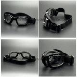 Pieghevole Anti-Graffiare le parti del motociclo degli occhiali di protezione di sicurezza dell'obiettivo del PC (SG146)