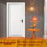 Дверь Veneer MDF высокого качества самомоднейшей конструкции белая (GSP8-039)