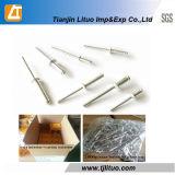 DIN7337 Couleur Aluminium / Acier / Rivet en acier inoxydable