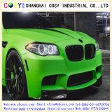 Etiqueta engomada cambiante del terciopelo de la burbuja del PVC del color libre del coche para la decoración