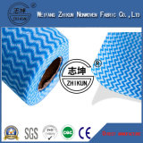Tissu non-tissé de Spunlace de 22 mailles pour le tissu de nettoyage