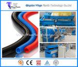 Corrugador de tubos de plástico, linha de extrusão de tubos corrugados, máquinas de tubulação ondulada